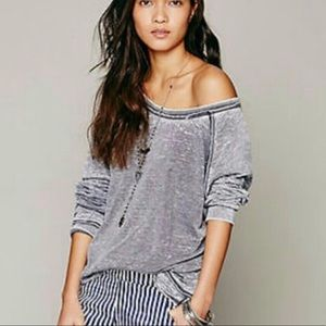 Free People | Never Can Tell Burnout Pullover